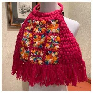 Wow 🌺 Crochet Wool handbag